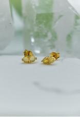 Tashi Double Opal Stud Earrings