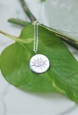 Tashi Medallion with Eye Necklace