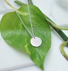 Tashi Round Disk Necklace