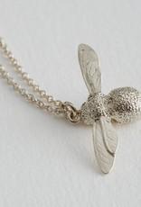 Alex Monroe AM Baby Bee Necklace Silver