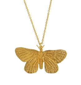 Alex Monroe Duke of Burgundy Butterfly Necklace