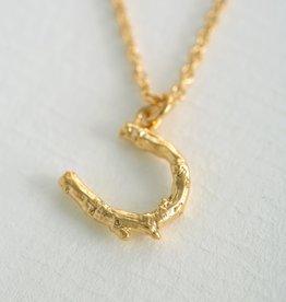 Alex Monroe Horseshoe Necklace