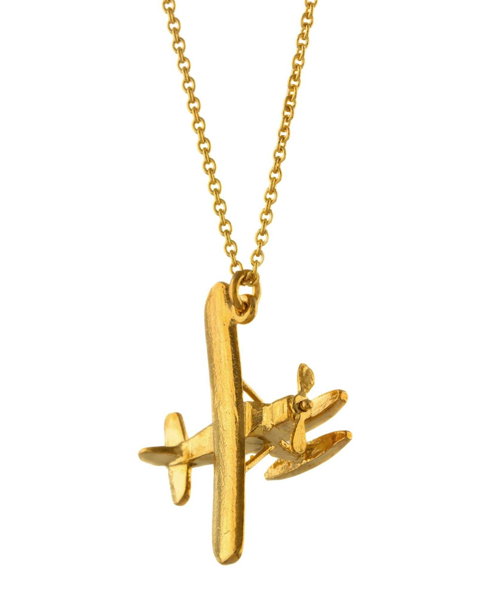 Alex Monroe Seaplane Necklace