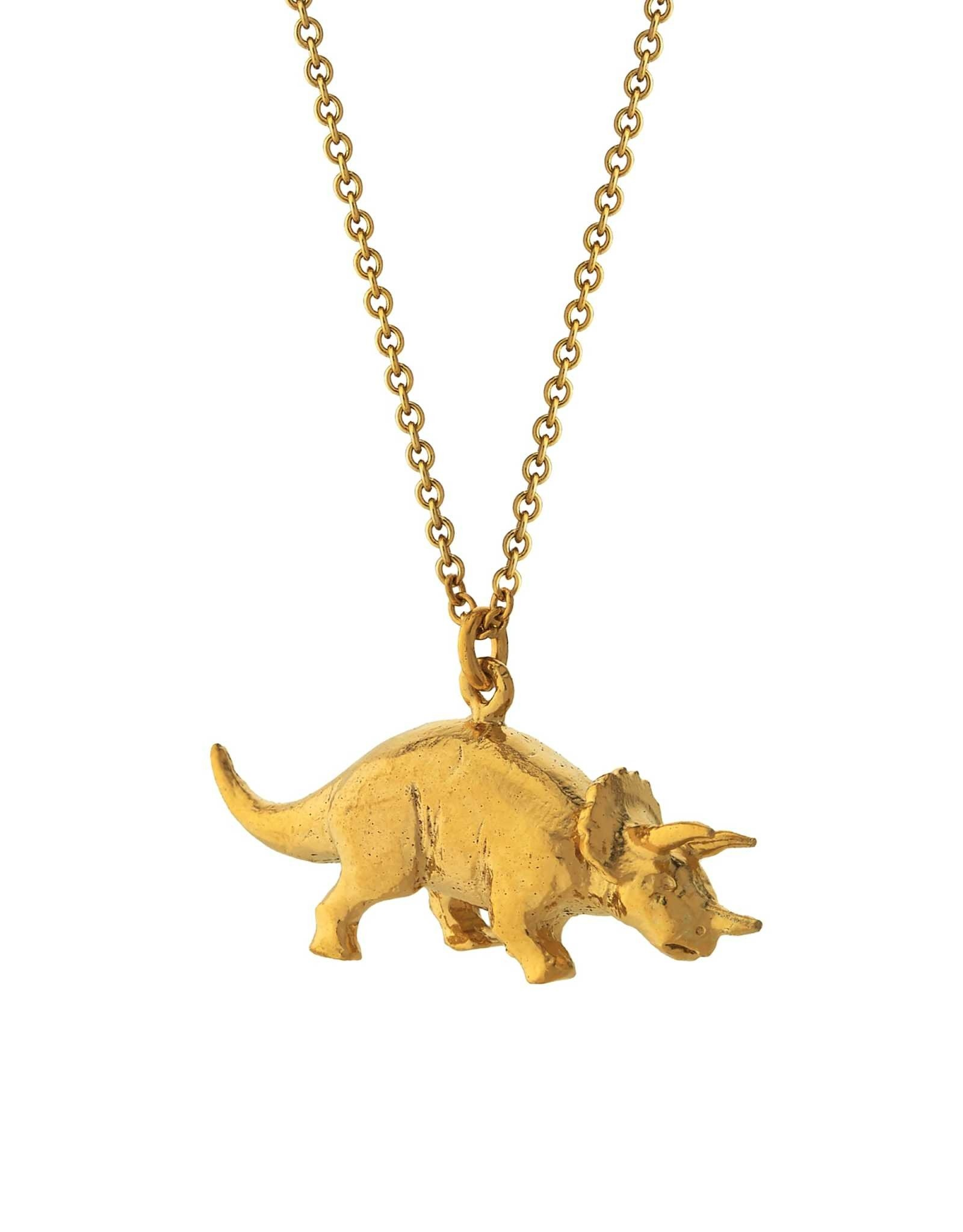Alex Monroe Triceratops Necklace