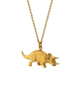 Alex Monroe Triceratops Necklace