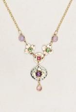 Holly Yashi Amethyst & Sage Eternal Flowers Necklace