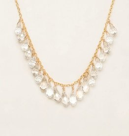 Holly Yashi Clear Lorelei Wedding Necklace