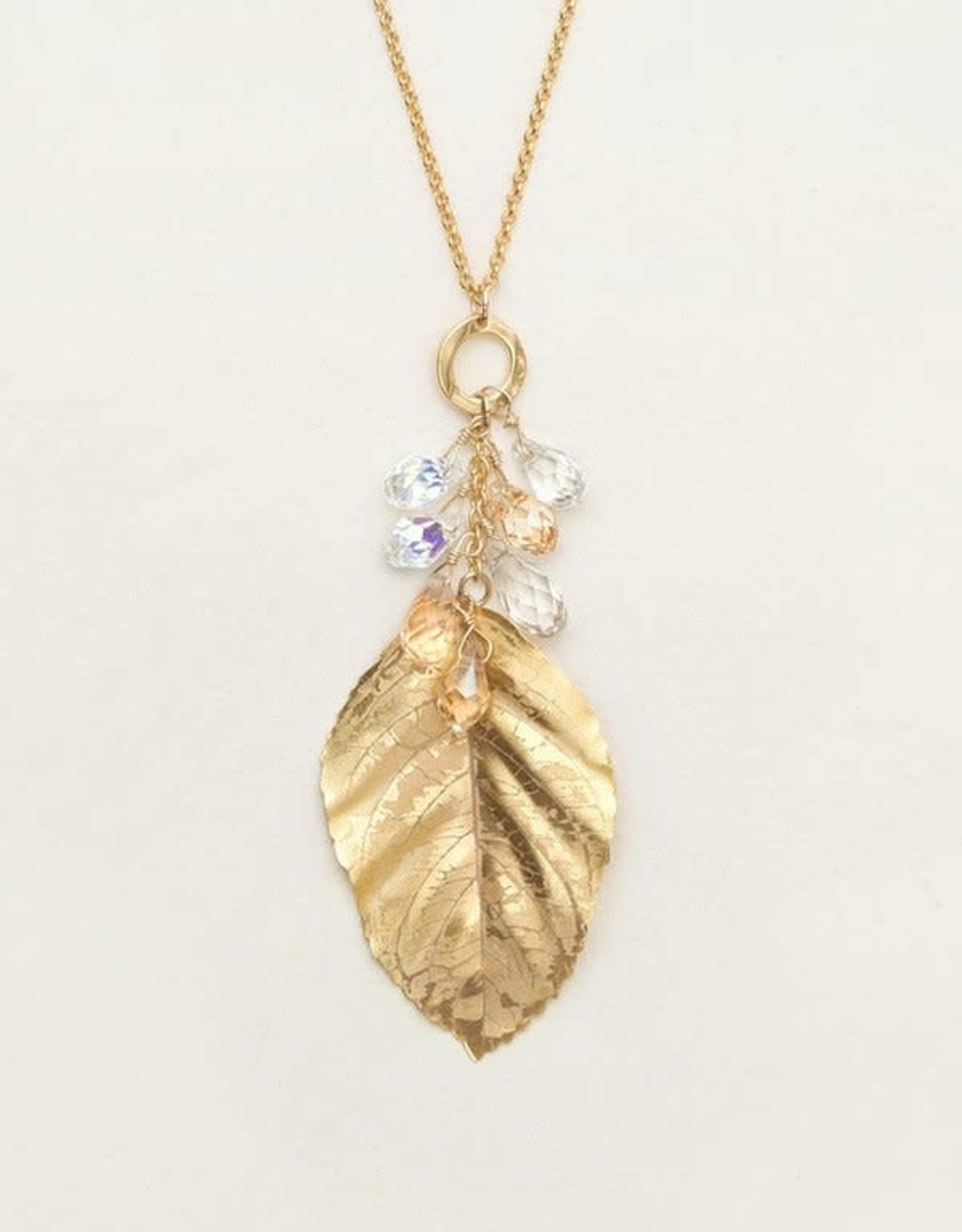 Holly Yashi Gold Cascading Elm Necklace
