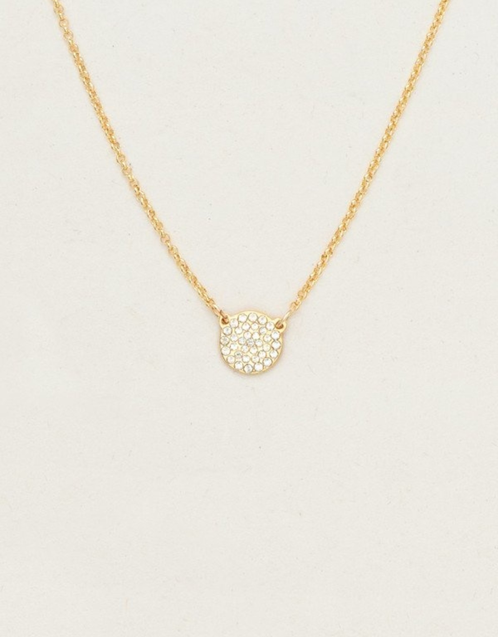 Holly Yashi Gold Starlight Necklace
