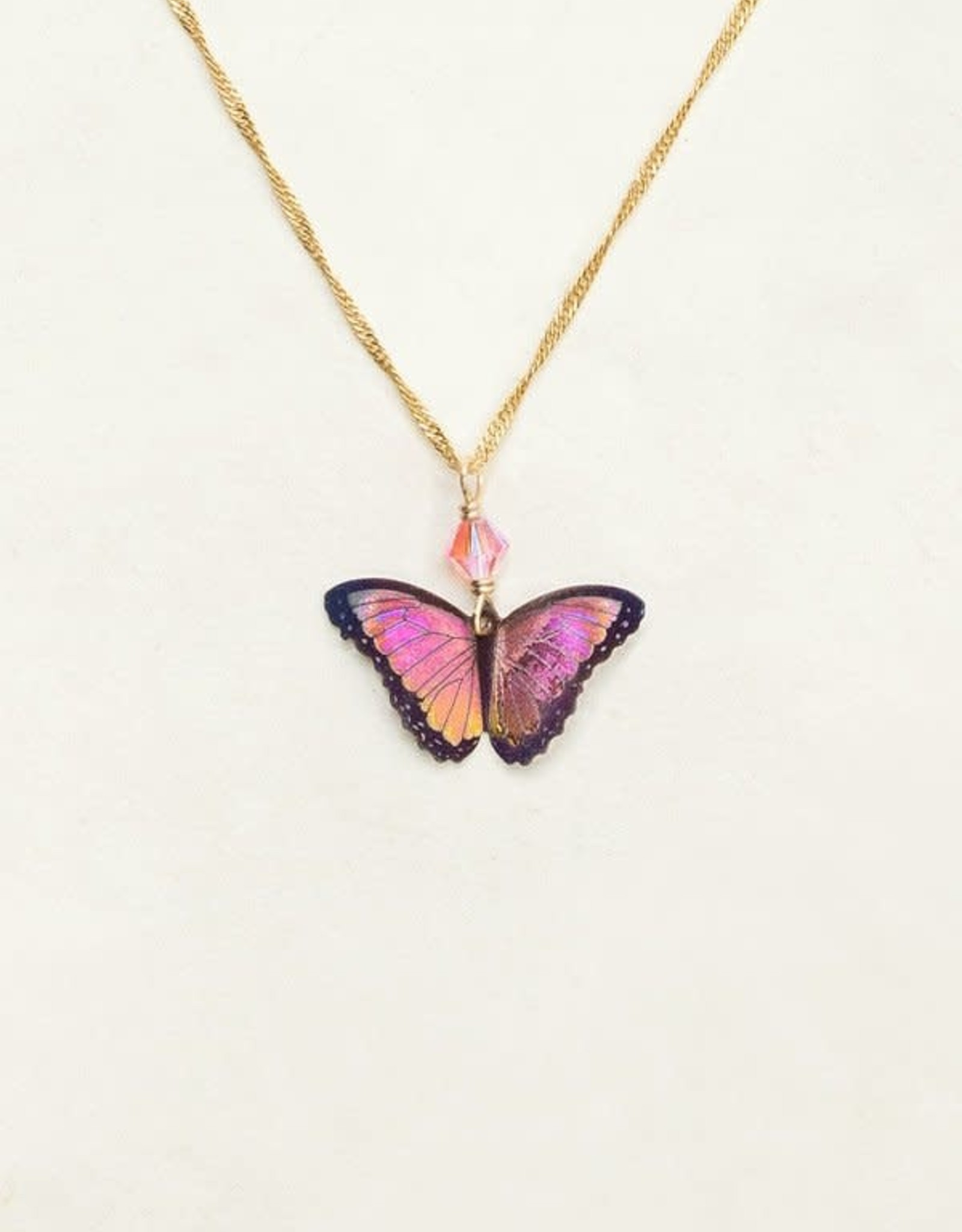 Holly Yashi Living Coral Bella Butterfly