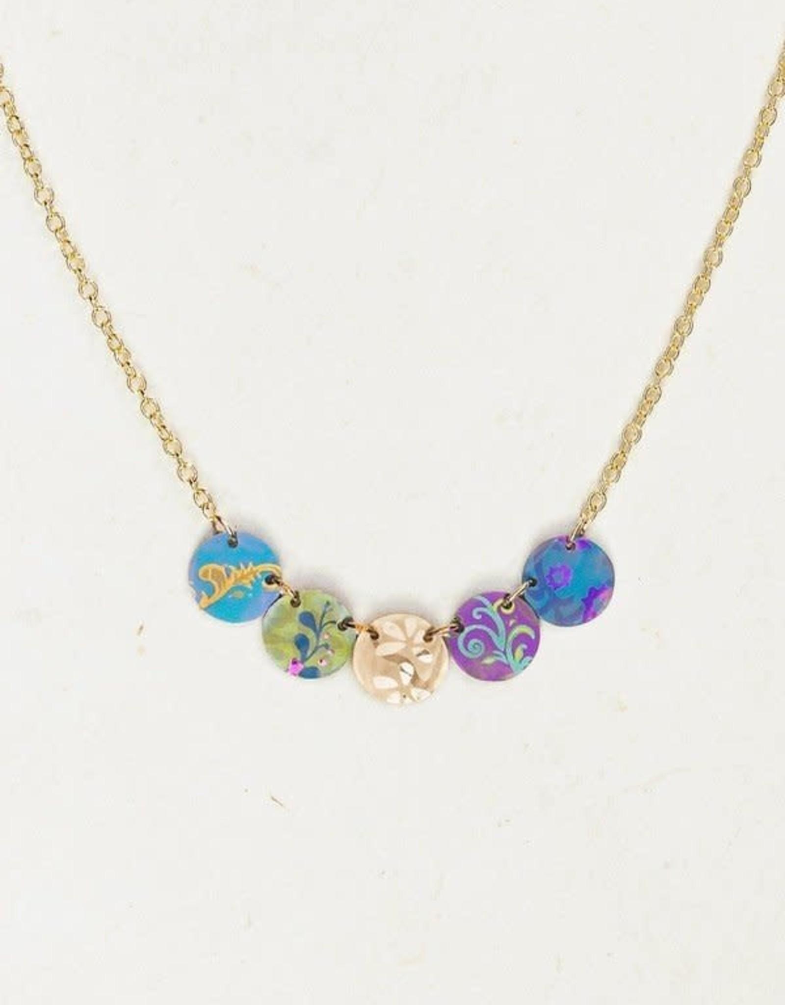 Holly Yashi Multi Laurel Necklace
