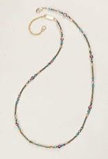 Holly Yashi Rainbow Mist Sonoma Glass Bead Necklace