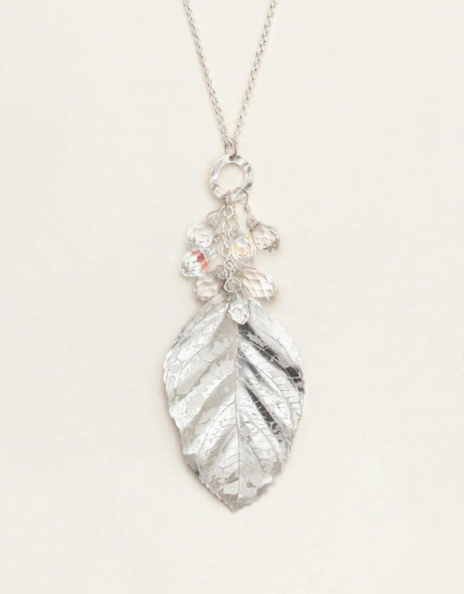Holly Yashi Silver Cascading Elm Necklace