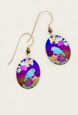 Holly Yashi Brown Birdsong Earrings