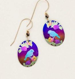 Holly Yashi Brown Birdsong Earrings