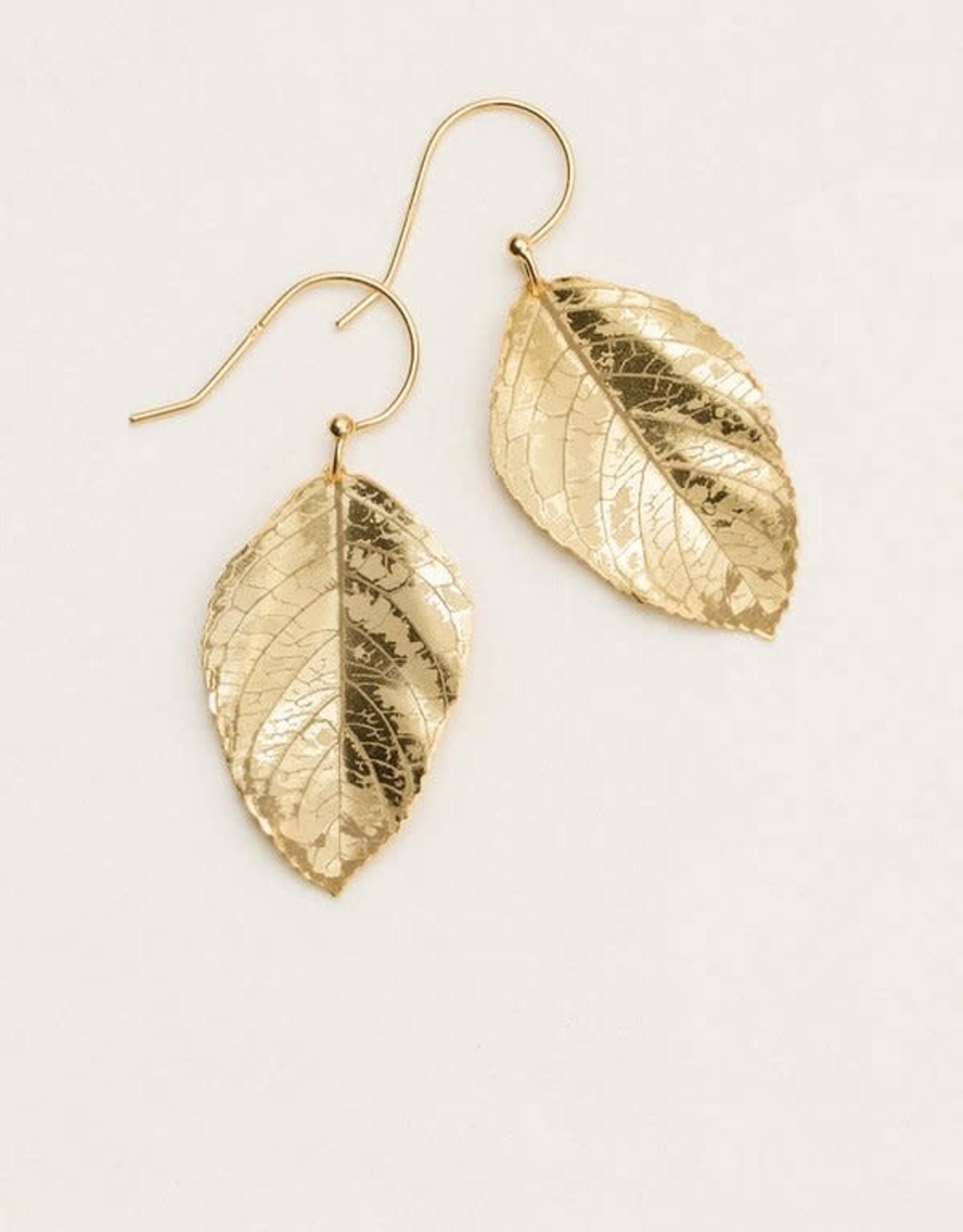 Holly Yashi Gold Elm Earrings