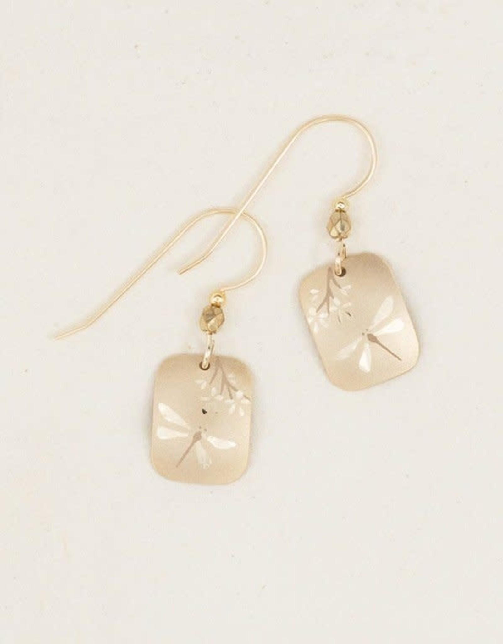 Holly Yashi Gold Garden Party Earrings