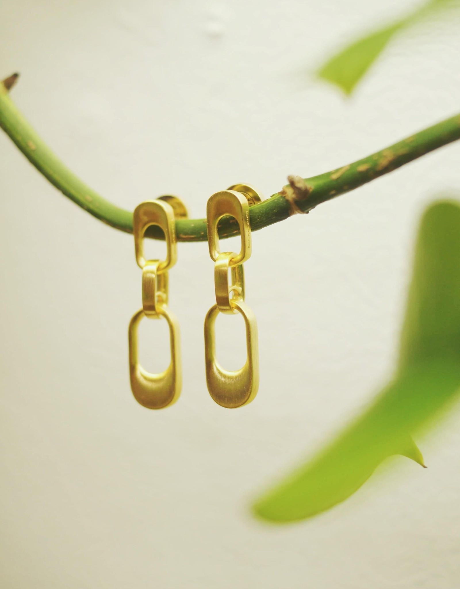Dean Davidson Chain Link Mini Drop Earrings
