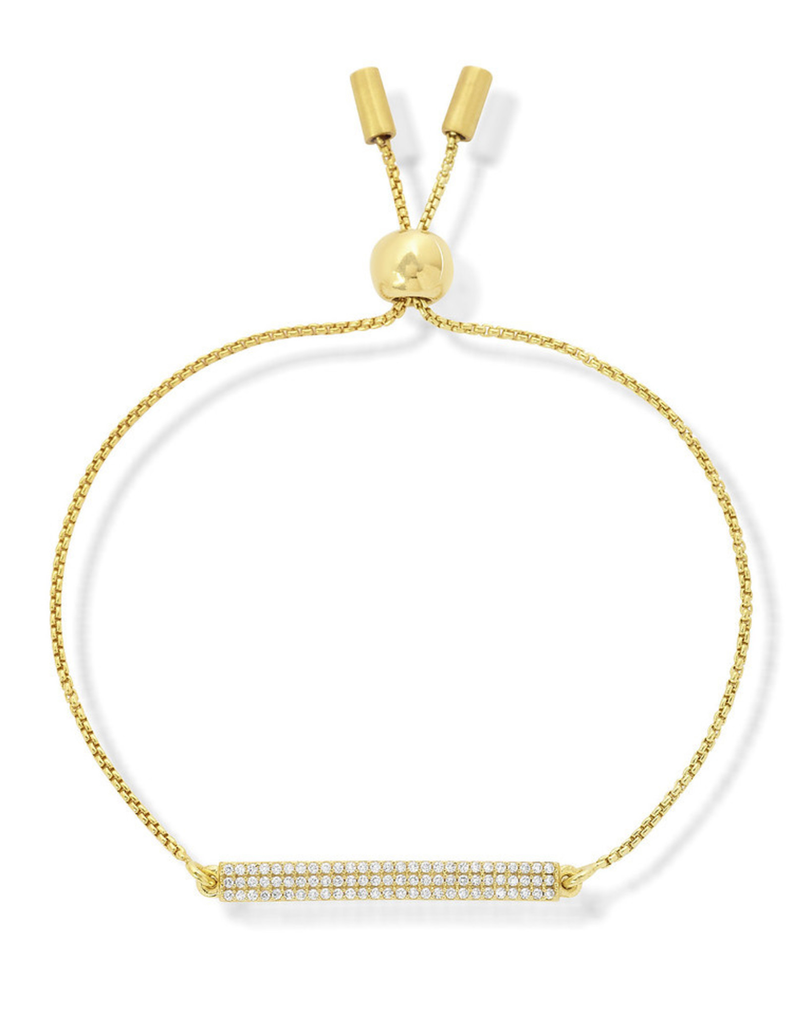 Dean Davidson Core Signature Bar Bracelet Pave