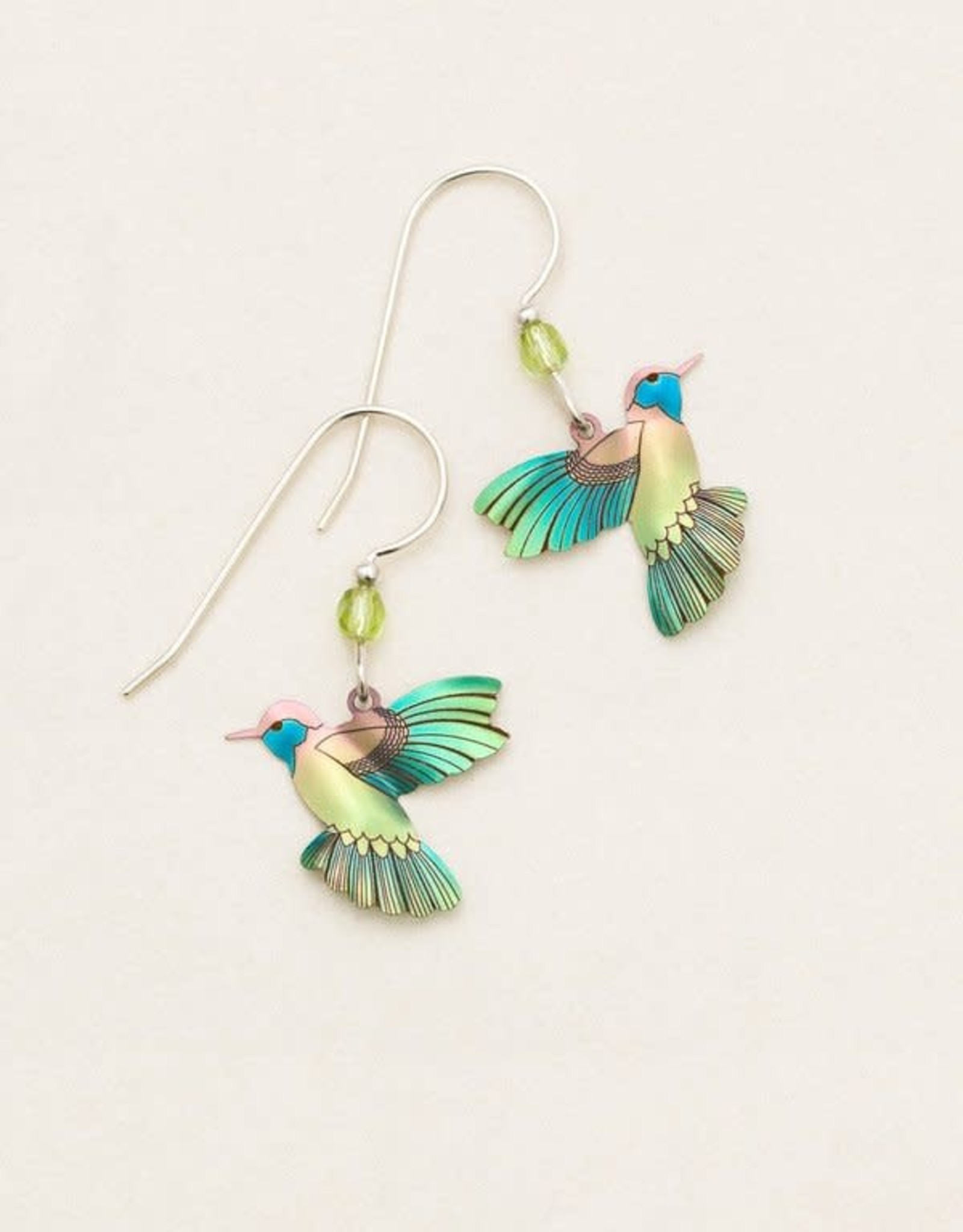 Holly Yashi Island Green Picaflor Earrings