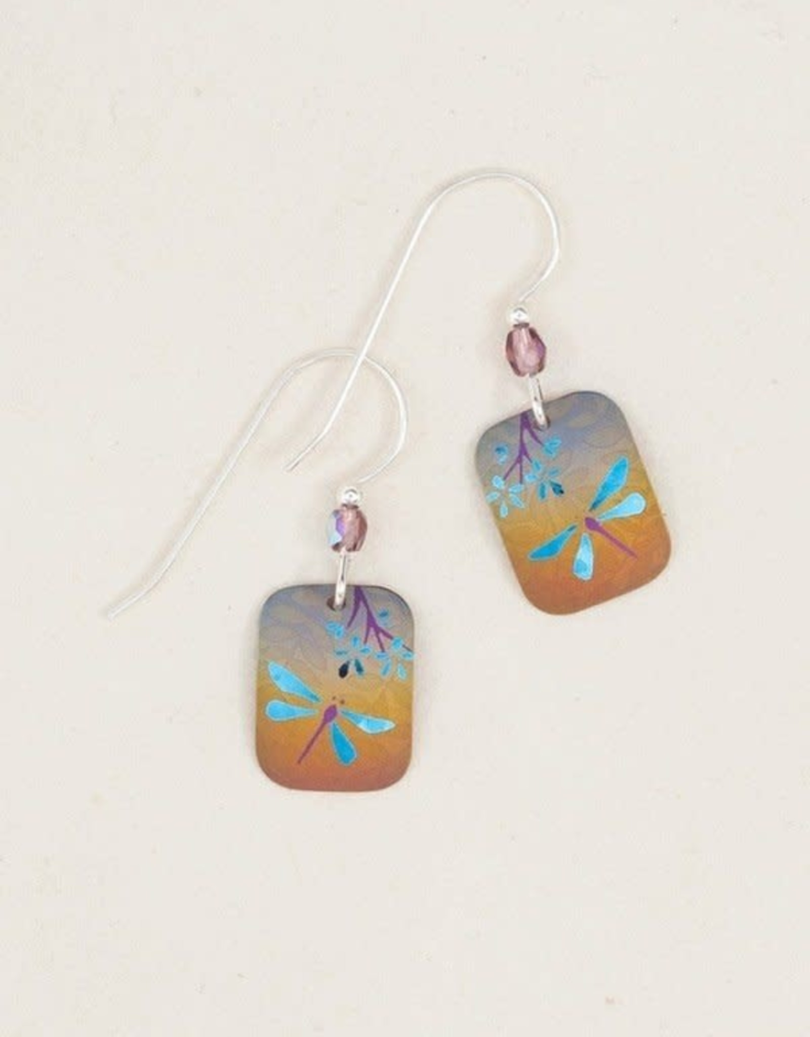 Holly Yashi HY Multi Colour &Teal Garden Party Earrings
