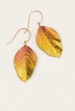 Holly Yashi Peach Elm Earrings