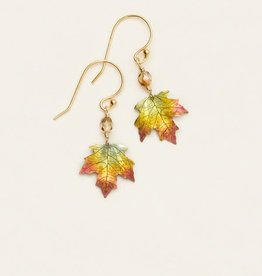 Holly Yashi Peach Sugar Maple Earrings