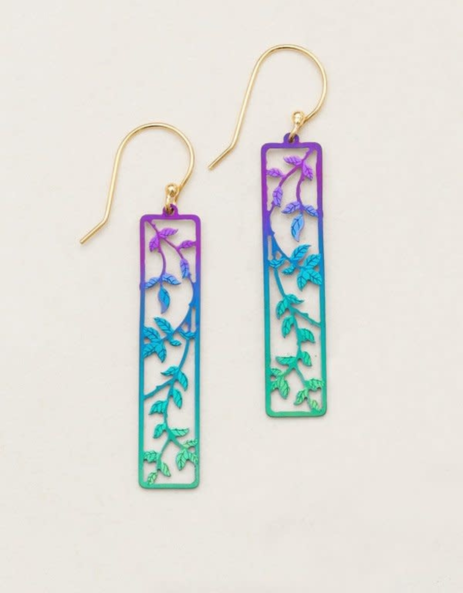 Holly Yashi Purple/ Turquoise Everly Earrings