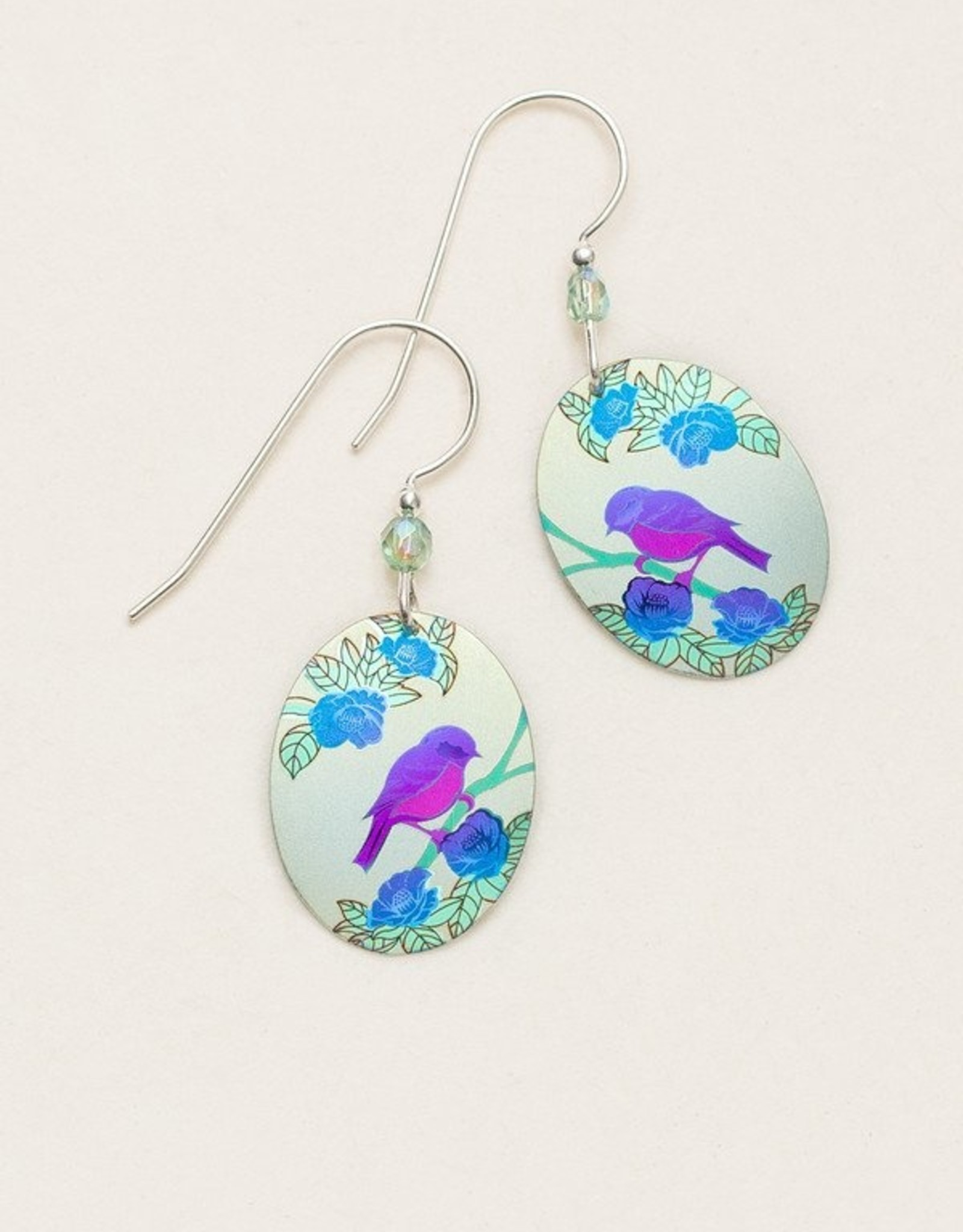 Holly Yashi Sage Birdsong Earrings