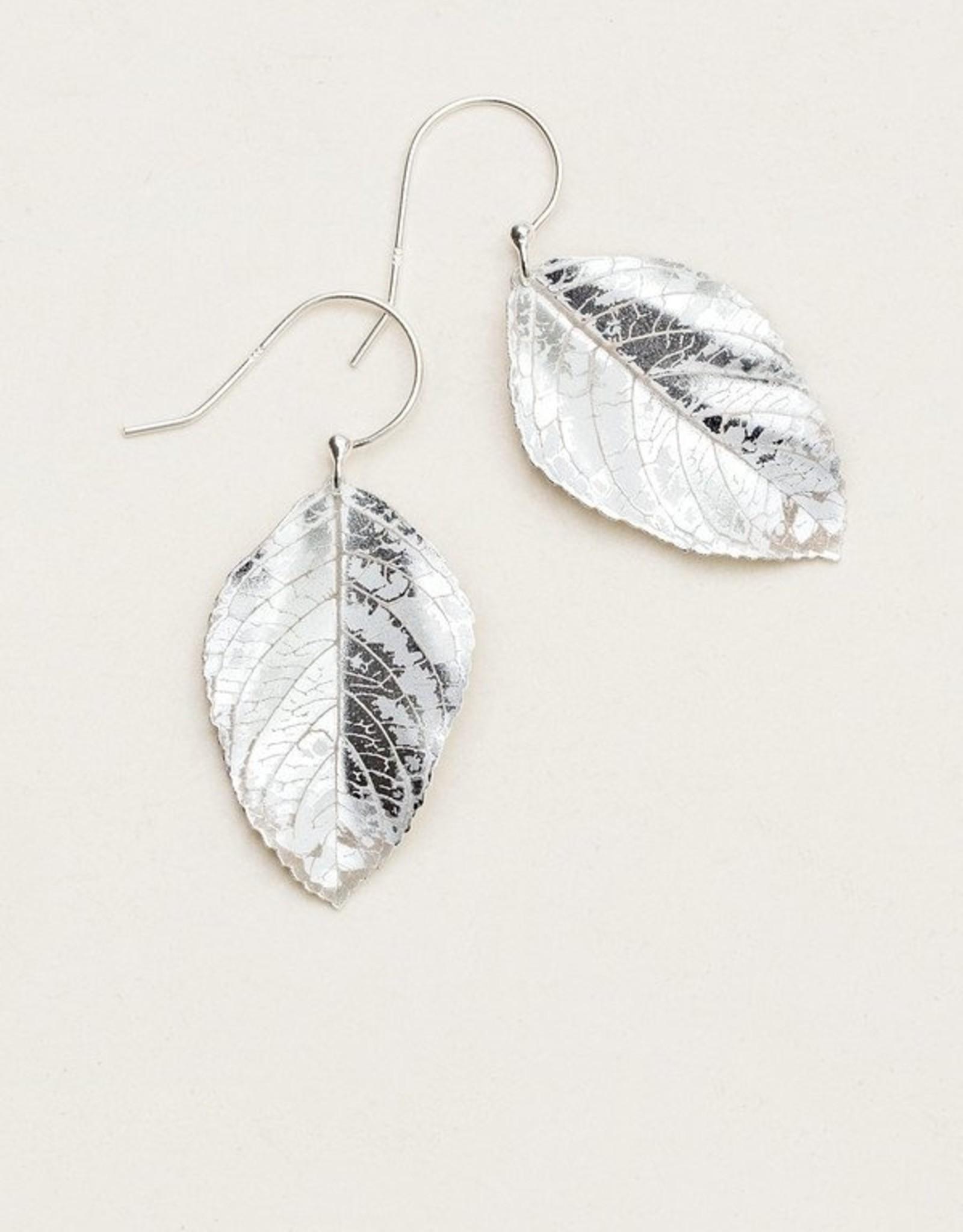 Holly Yashi Silver Elm Earrings