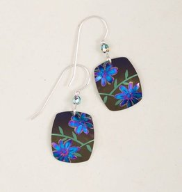 Holly Yashi Brown Meadow Earrings
