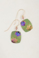 Holly Yashi Green Meadow Earrings
