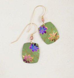 Holly Yashi Green Meadow Earrings
