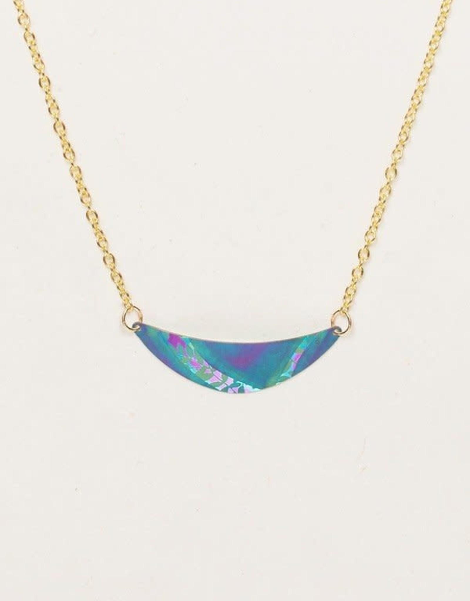 Holly Yashi Turquoise/ Purple Selena Necklace