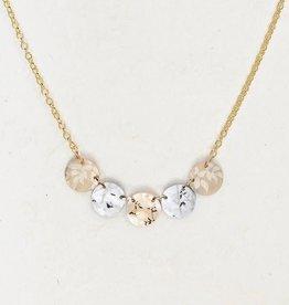 Holly Yashi Gold/Silver Laurel Necklace