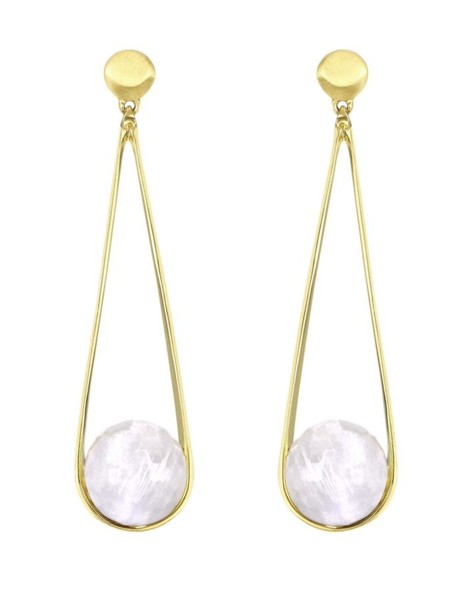 Dean Davidson DD Ipanema Earrings - Rainbow Moonstone