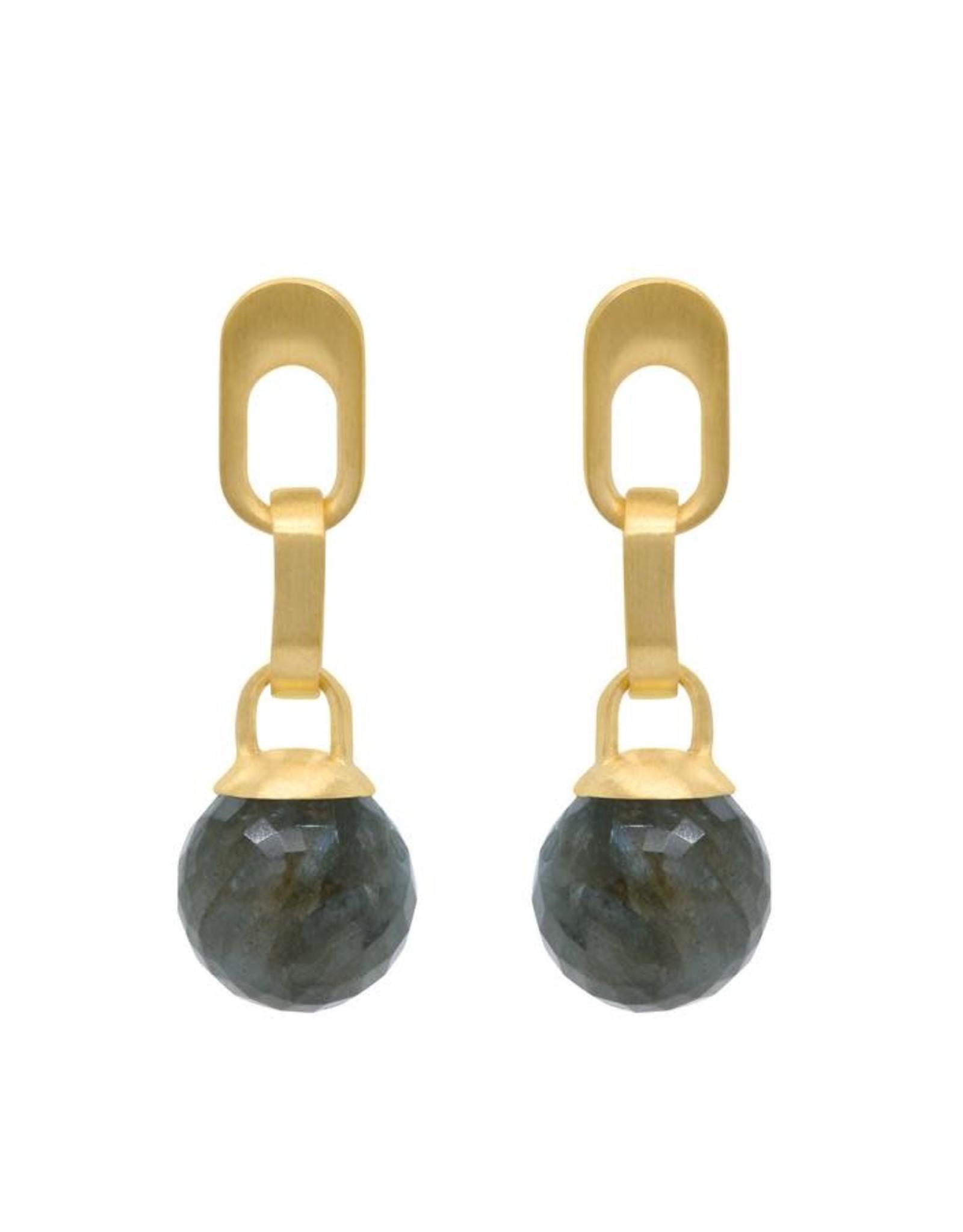 Dean Davidson Manhattan Gemstone Drop Earrings - Labradorite