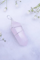 Nomad Crystals Wire Wrapped Crystal Necklace