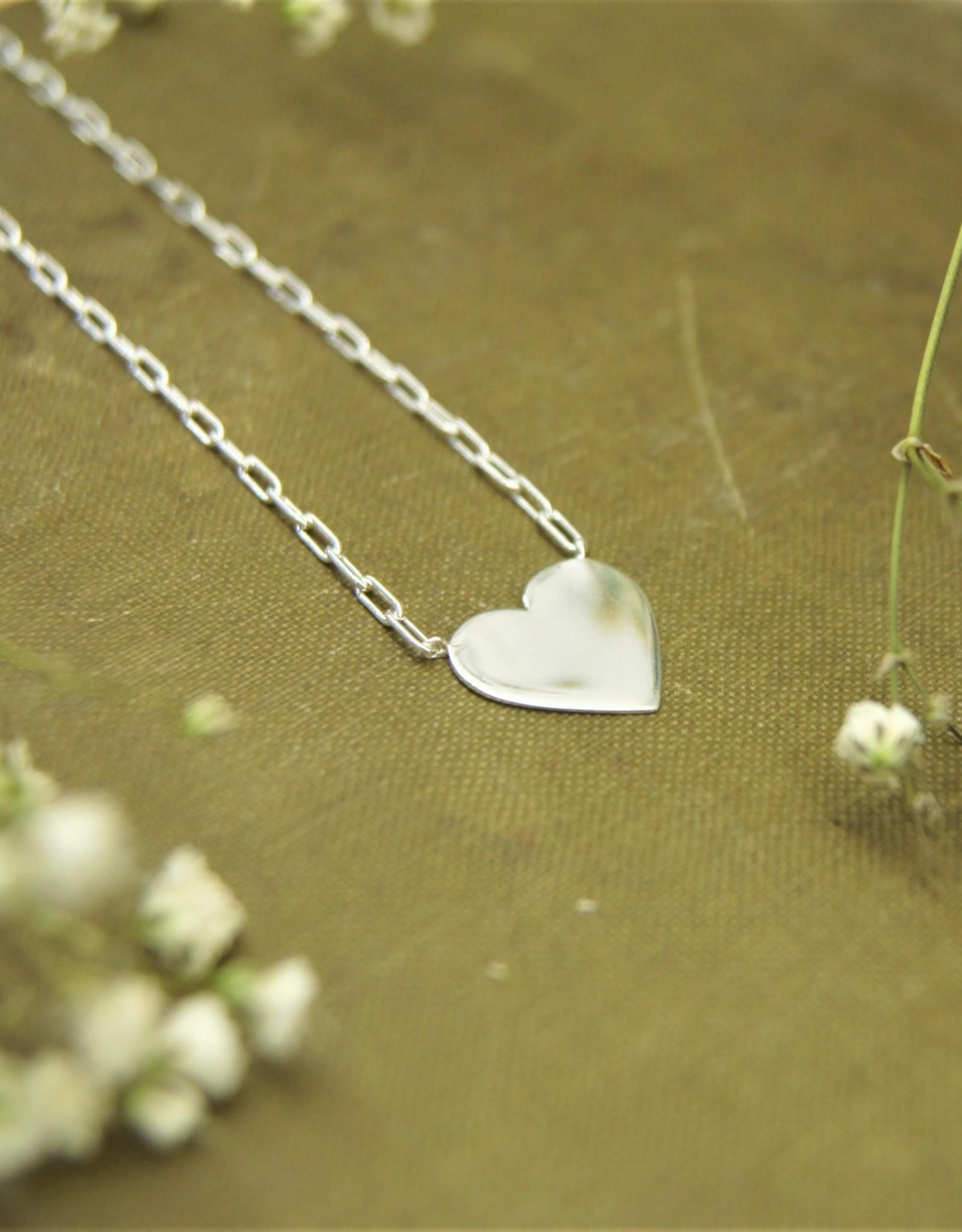 Tashi Large Heart Necklace