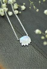 Tashi Rainbow Moonstone Necklace