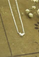 Tashi Tiny Angle Necklace