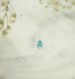 Tashi Turquoise & London Blue Topaz Necklace