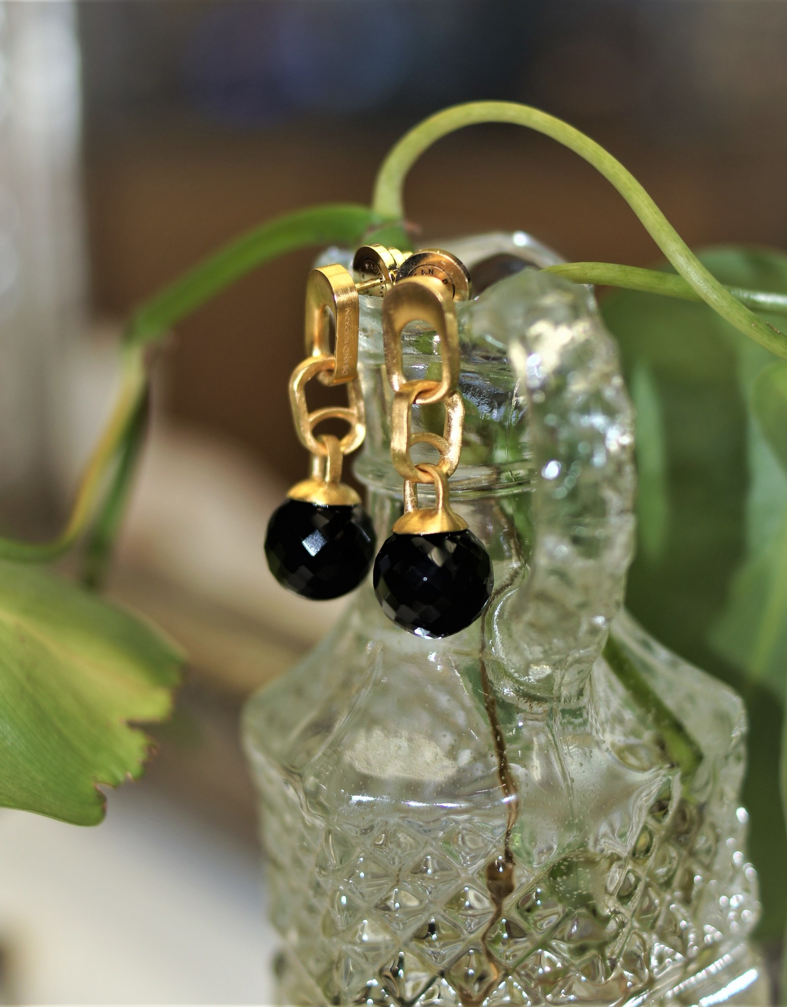 Dean Davidson Manhattan Gemstone Drop Earrings - Black Onyx