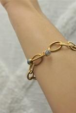 Dean Davidson Origami Infinity Bracelet - Labradorite