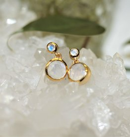 Dean Davidson Signature Droplet Earring - Rainbow Moonstone