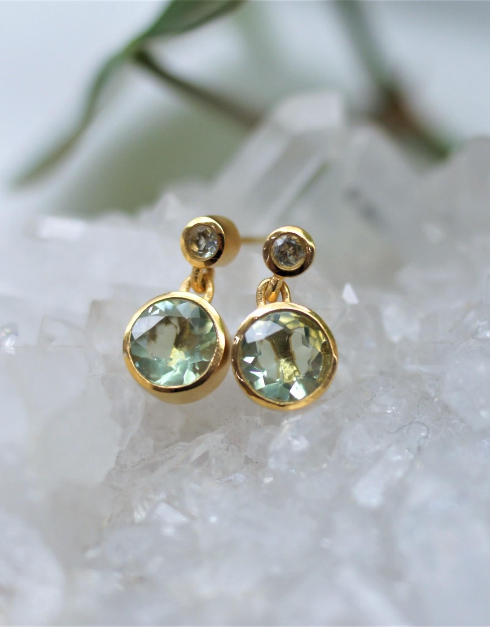 Dean Davidson Droplet Earring - Green Amethyst