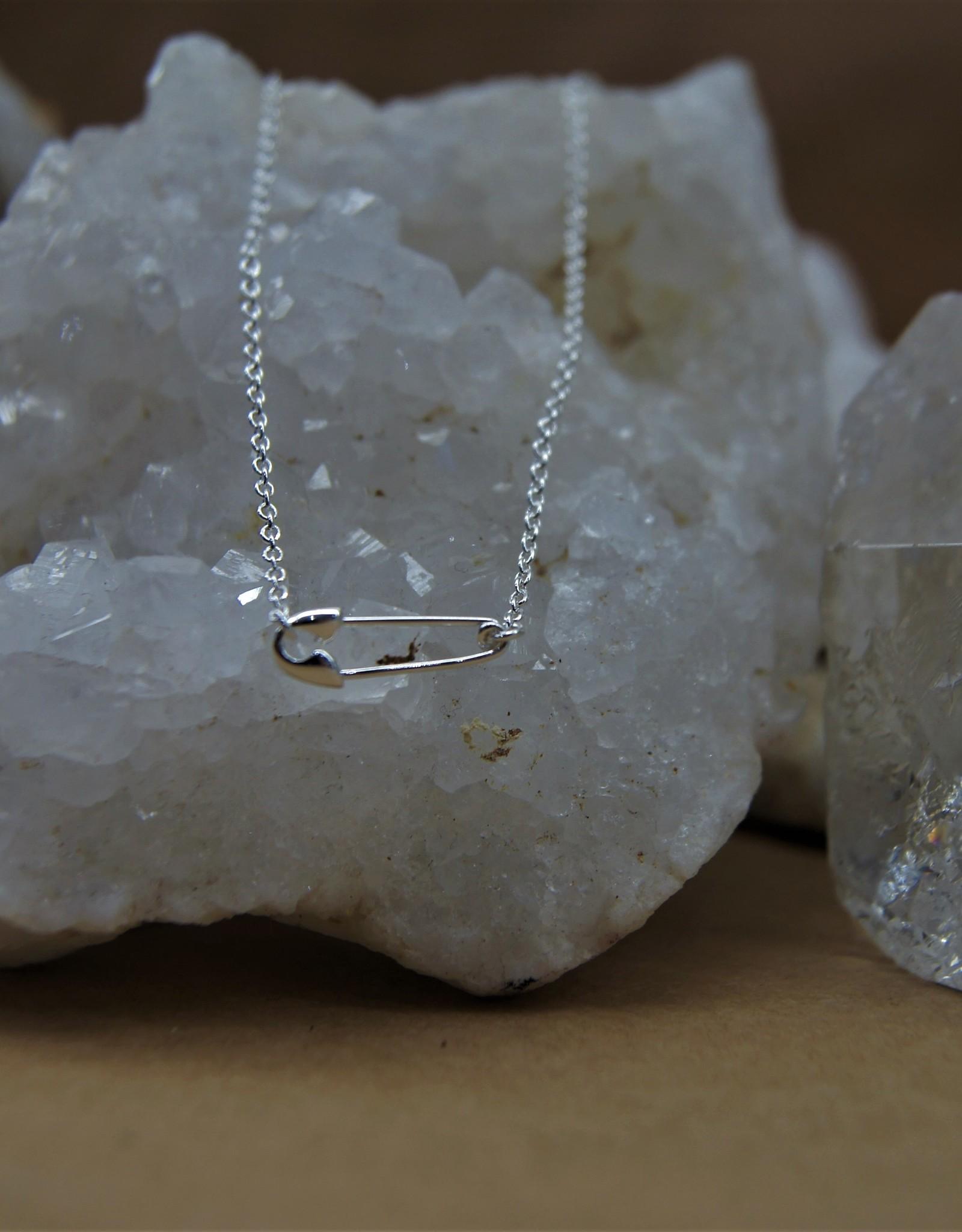 Tashi Safety Pin Necklace