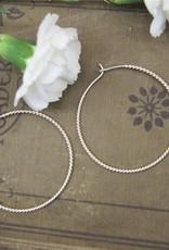 Tashi 48mm Twisted Wire Hoops