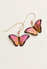 Holly Yashi Living Coral Bella Butterfly Earrings