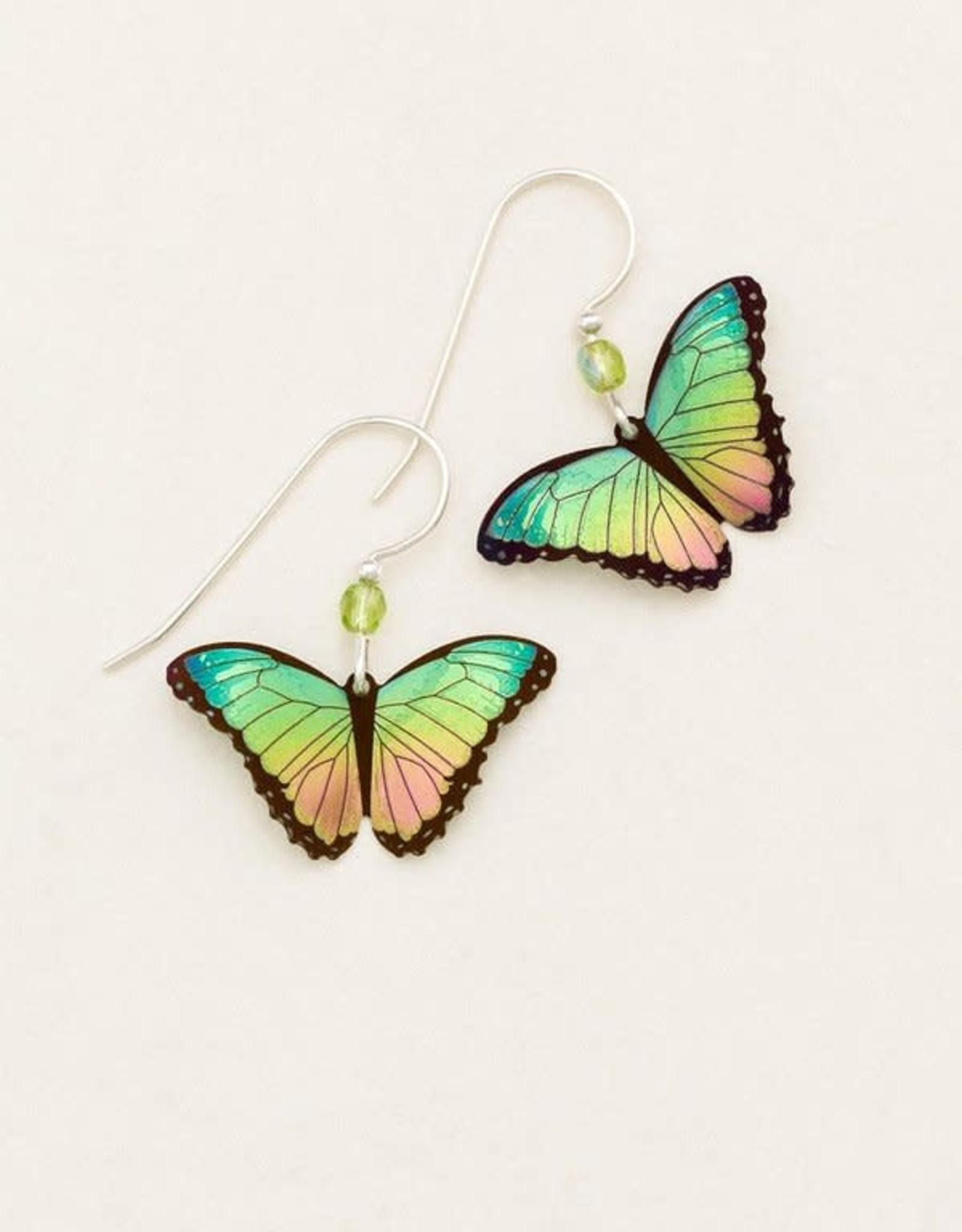 Holly Yashi Island Green Bella Butterfly Earrings